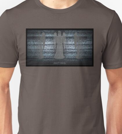 Weeping Angels and Static Unisex T-Shirt