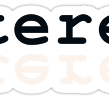 Stereo Sticker
