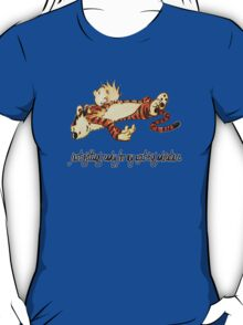 Calvin and Hobbes Resting T-Shirt