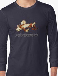 Calvin and Hobbes Resting Long Sleeve T-Shirt