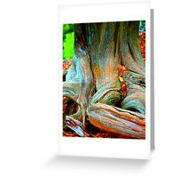 """Root of all Evil - """"Money Tree"""" Greeting Card"""