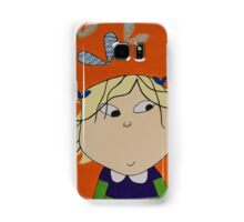 Lola with Butterfly Kisses Samsung Galaxy Case/Skin