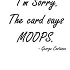 The card says MOOPS by mysports