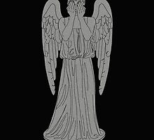 Single Weeping Angel by sim75