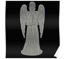 Single Weeping Angel Poster