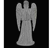 Single Weeping Angel Photographic Print