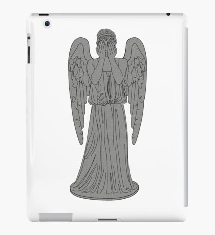 Single Weeping Angel iPad Case/Skin