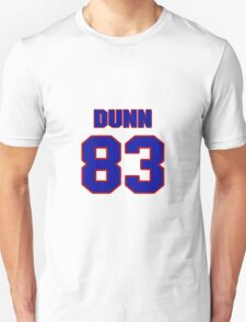 National football player Damon Dunn jersey 83 T-Shirt