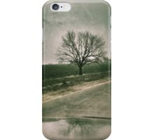 Drive by tree... iPhone Case/Skin