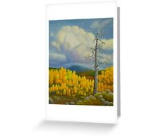 Autumn in Lapland Greeting Card