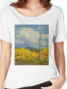 Autumn in Lapland Women's Relaxed Fit T-Shirt
