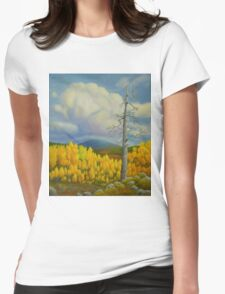 Autumn in Lapland Womens Fitted T-Shirt