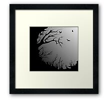 old tree Framed Print