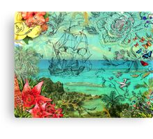 Bermuda and The Sea Venture Canvas Print