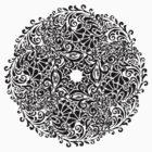 lace circle_black by VioDeSign