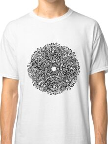 lace circle_black Classic T-Shirt