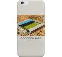 Vintage Football Grounds - Goodison Park (Everton FC) iPhone Case/Skin