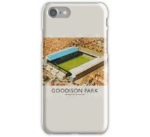 Vintage Football Grounds - Goodison Park (Everton FC) iPhone Case/Skin