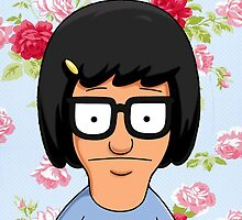Tina Belcher Floral by spaceghosts