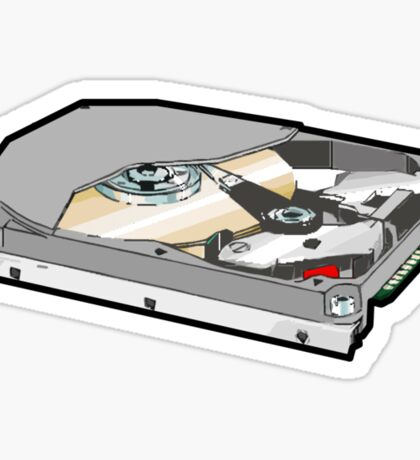 COMPUTER HARD DISK Sticker
