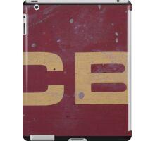 HDR Composite - Discbine Farm Equipment Sign iPad Case/Skin