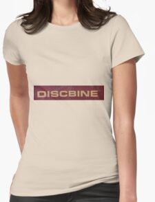 HDR Composite - Discbine Farm Equipment Sign Womens Fitted T-Shirt