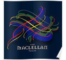 MacLellan Tartan Twist Poster