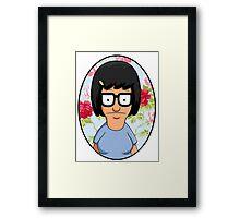 Tina Belcher Floral Framed Print