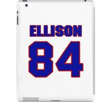National football player 'Omar Ellison jersey 84 iPad Case/Skin