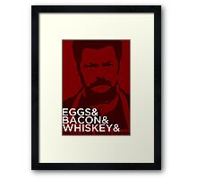 Swanson And Framed Print