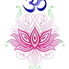 Lotus-Om by ramanandr