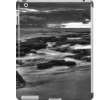 Rocks at Sunset 2 BW iPad Case/Skin
