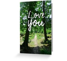 Fairy Tale Love Greeting Card