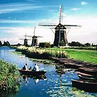 DUTCH WINDMILLS 01 by RainbowArt