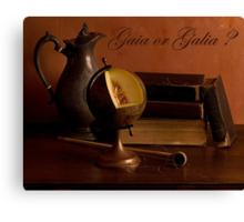 Gaia or Galia Canvas Print