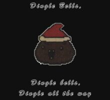Binding of Isaac Dingle bells Christmas by DovydasKow