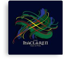 MacLaren Tartan Twist Canvas Print