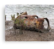 Rusty Relic Canvas Print