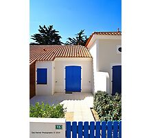 French cottage Photographic Print