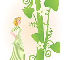 Melissa and the Beanstalk by trennea
