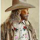 "ALAN BAKER AS ""BUFFALO BILL"" by Denny Karchner"