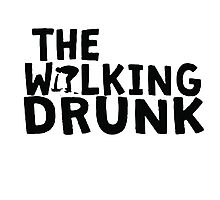 The Walking Drunk logo 2 Photographic Print