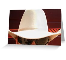 10 gallon hat Greeting Card