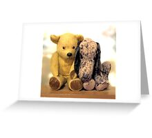 Two old friends.... Greeting Card