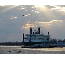 Riverboat Casino Photographic Print