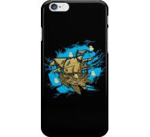 Ghost Spaceship iPhone Case/Skin