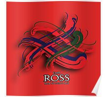 Ross Tartan Twist Poster