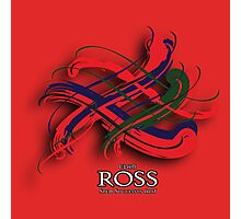 Ross Tartan Twist Photographic Print
