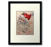 Merry Christmas, Buon Natale, Framed Print