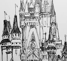 sketchy castle. by parallelines